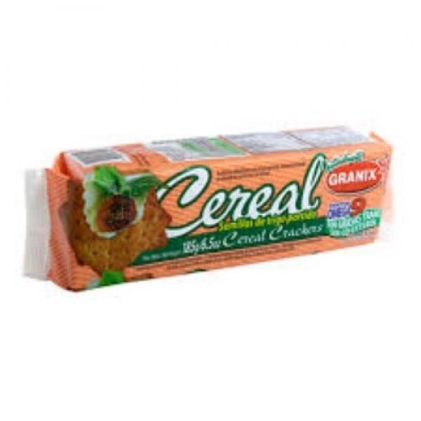 Granix Galletitas Cereal Semillas De Trigo Partido 185gr