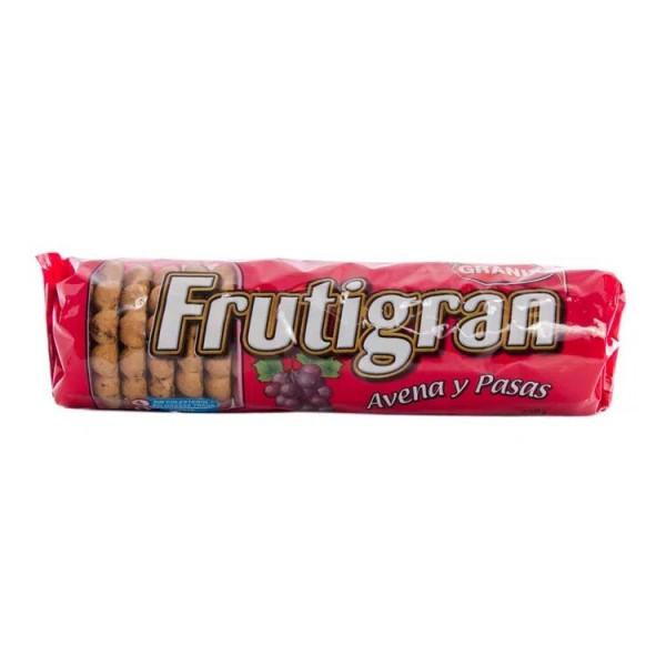 Frutigran Galletitas Dulces Avena Y Pasas 250gr
