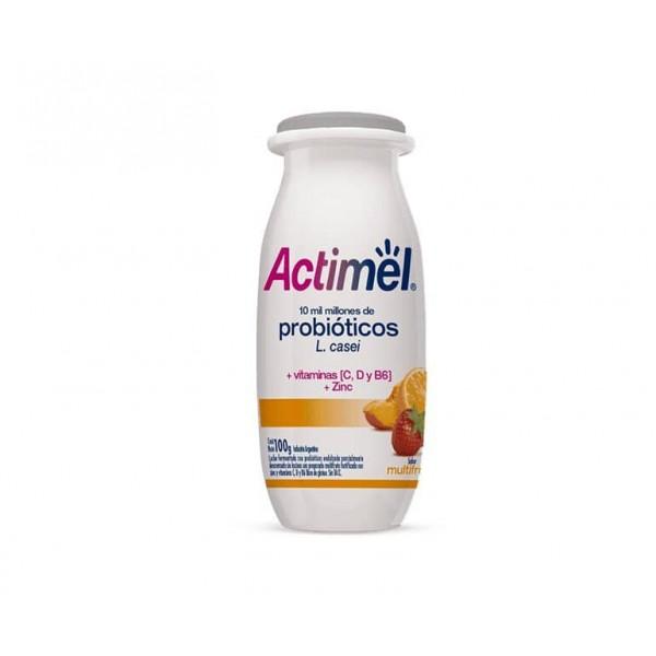 Actimel Yogur Bebible con Probioticos Sabor Multifruta 100gr