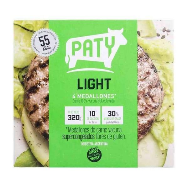 Paty Hamburguesas Light 4 unidades 320gr
