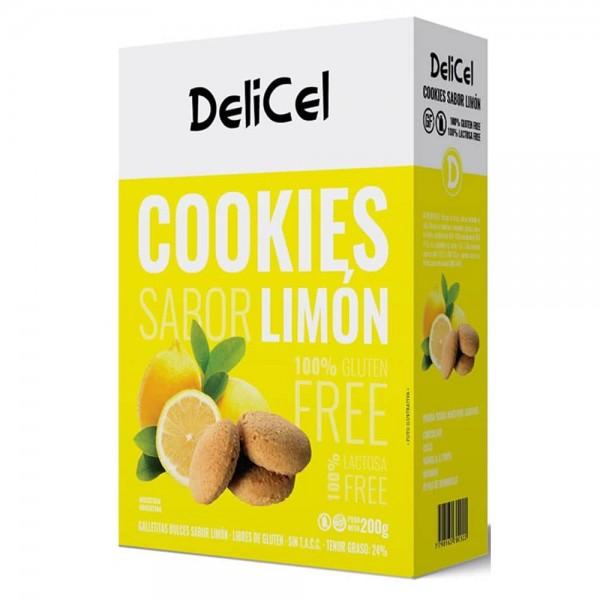 Delicel Galletitas Dulces Sabor Limon 200gr