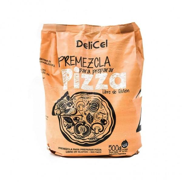 Delicel Premezcla Para Preparar Pizza 500gr