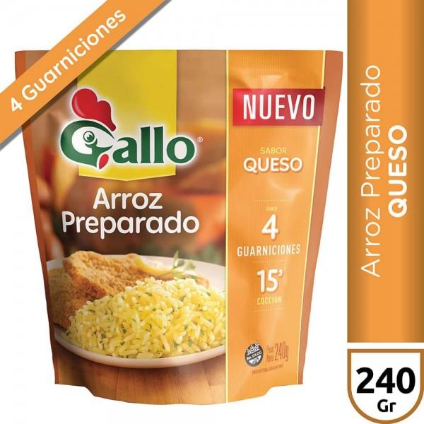 Gallo Arroz Preparado Sabor Queso 240gr