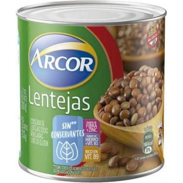 Arcor Conserva De Lentejas Secas Remojadas Sin Conservantes 300gr