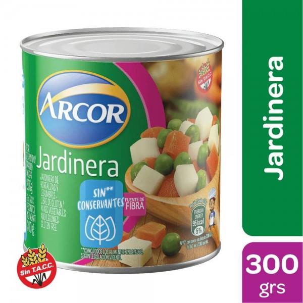 Arcor Jardinera De Hortalizas y Legumbres Sin Conservantes 300gr