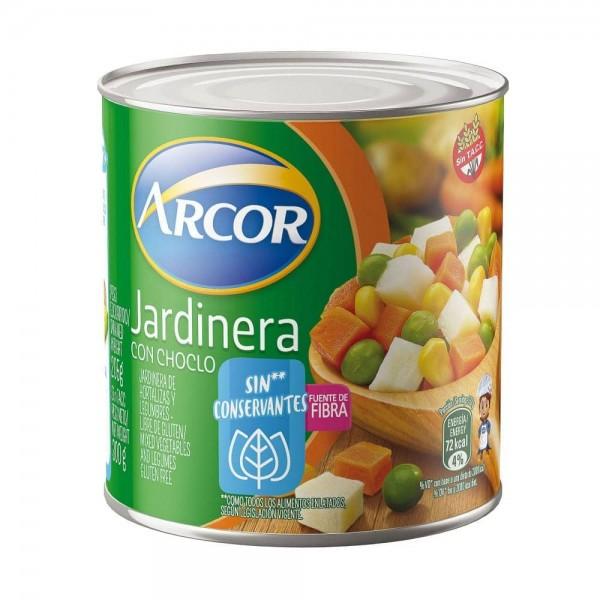 Arcor Jardinera De Hortalizas y Legumbres Con Choclo Sin Conservantes 300gr