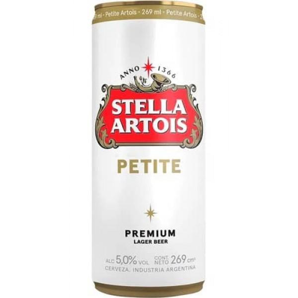 Stella Artois Cerveza Petite Premium Lata 269ml