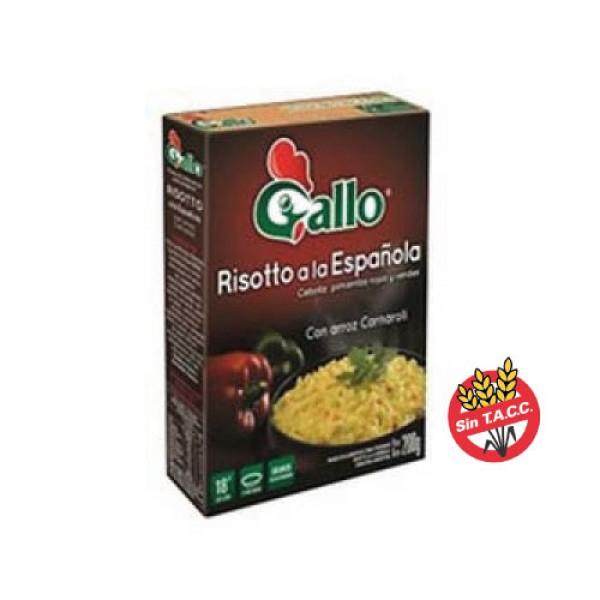 Gallo Risotto A La Española Con Arroz Carnaroli 240gr