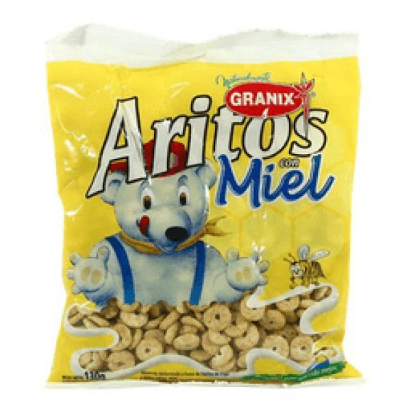 Granix Cereales Aritos con Miel 130grs
