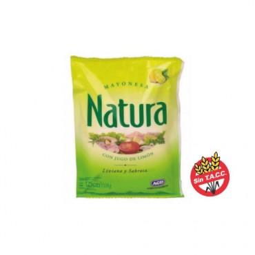 Natura Mayonesa Con Jugo De Limon 118gr