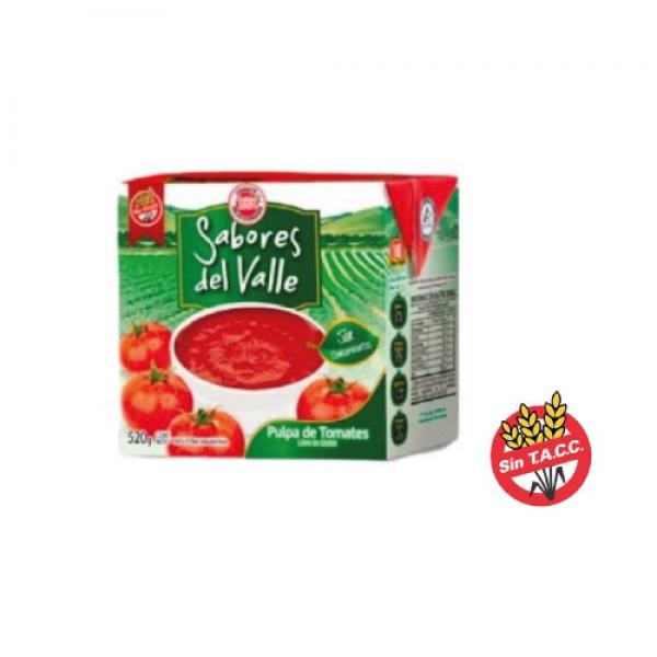 Sabores Del Valle Pulpa De Tomate 520gr