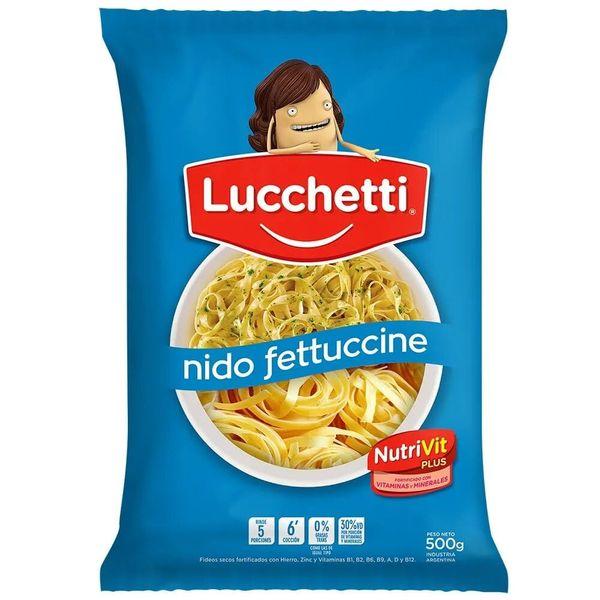 Lucchetti Fideos Nido Fettuccine 500gr
