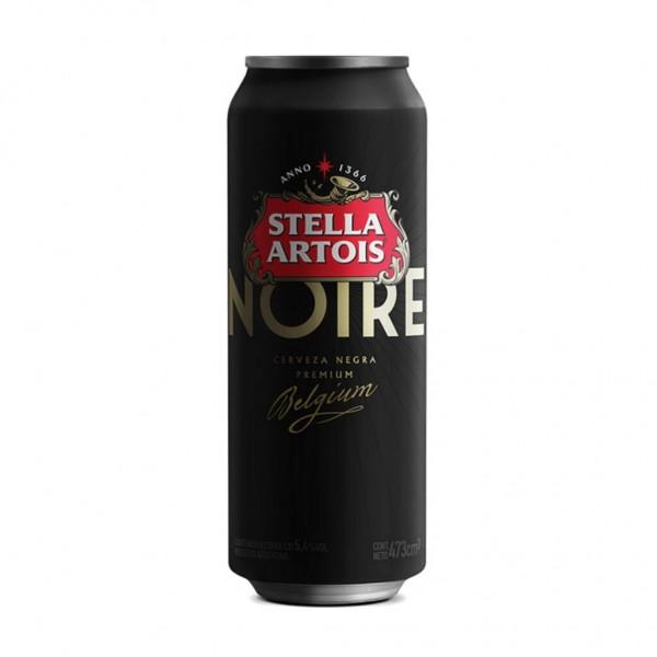 Stella Artois Cerveza Negra Premium Noire Lata 473ml