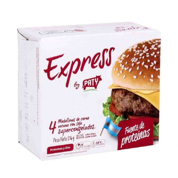 Paty Express Hamburguesas De Carne 4 Unidades 276gr