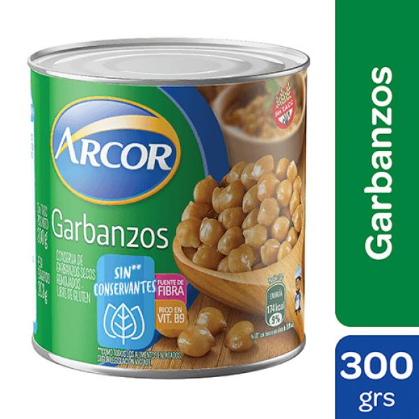Arcor Garbanzos 300gr