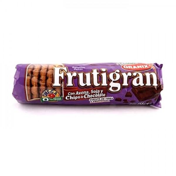 Frutigran Galletitas Dulces Chips De Chocolate 255gr