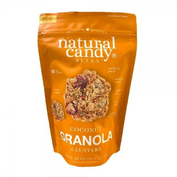 Natural Candy Bites Coconut Granola 100gr