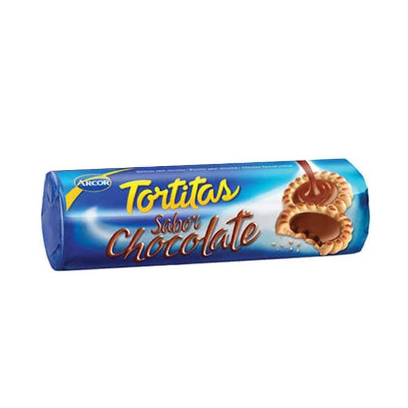 Tortita Galletita Dulce Sabor Chocolate 125gr