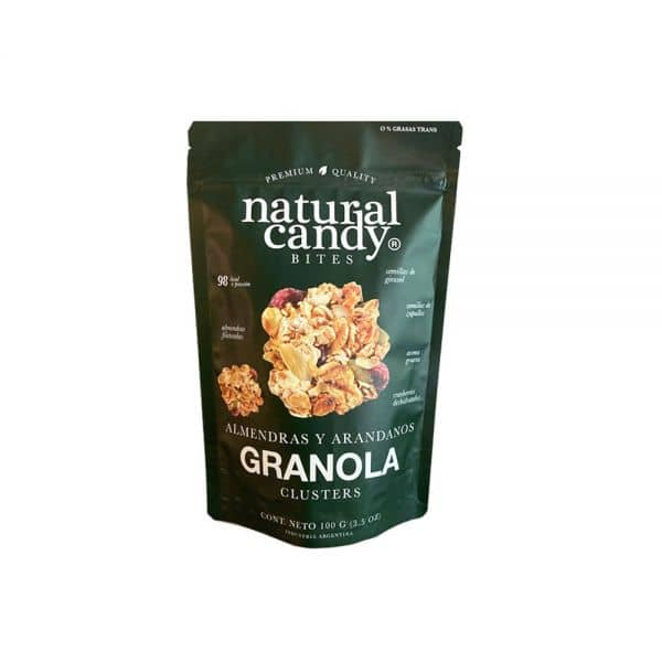 Natural Candy Bites Almendras Y Canela Granola 100gr