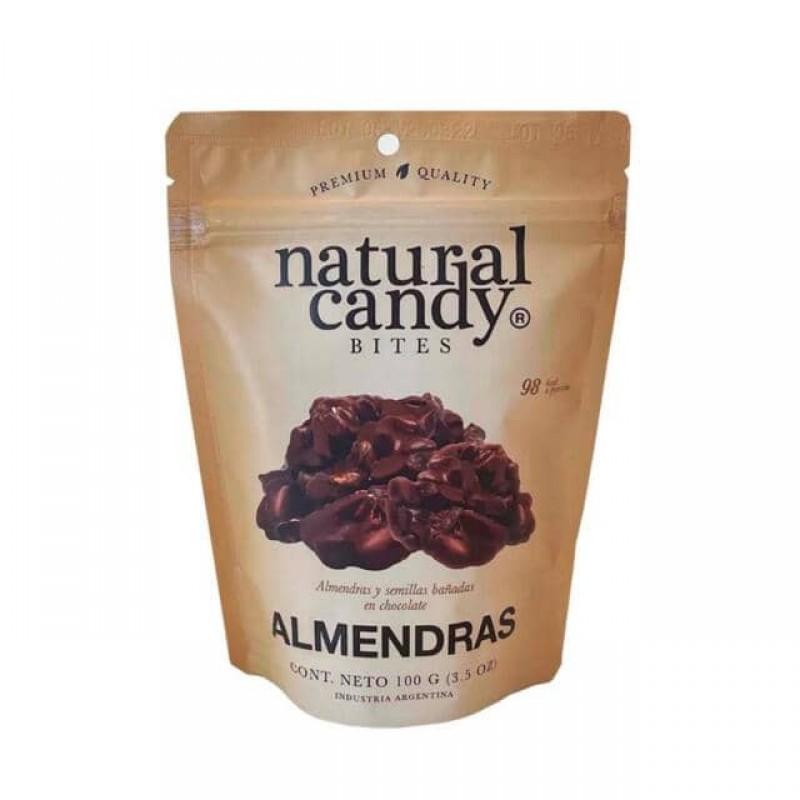 Natural Candy Bites Almendras Y Semillas 100gr