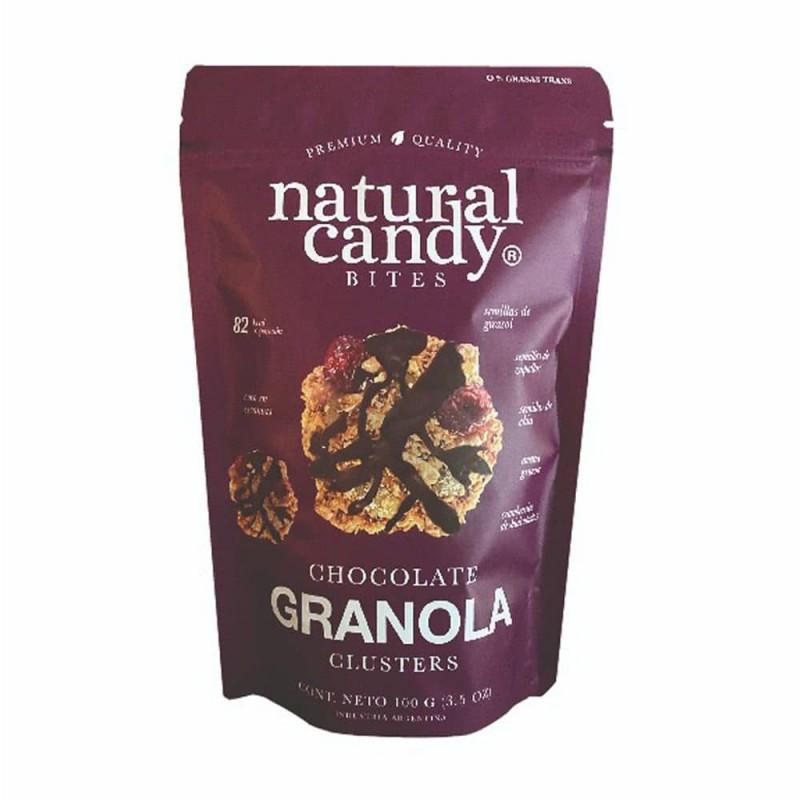 Natural Candy Bites Chocolate Granola 100gr