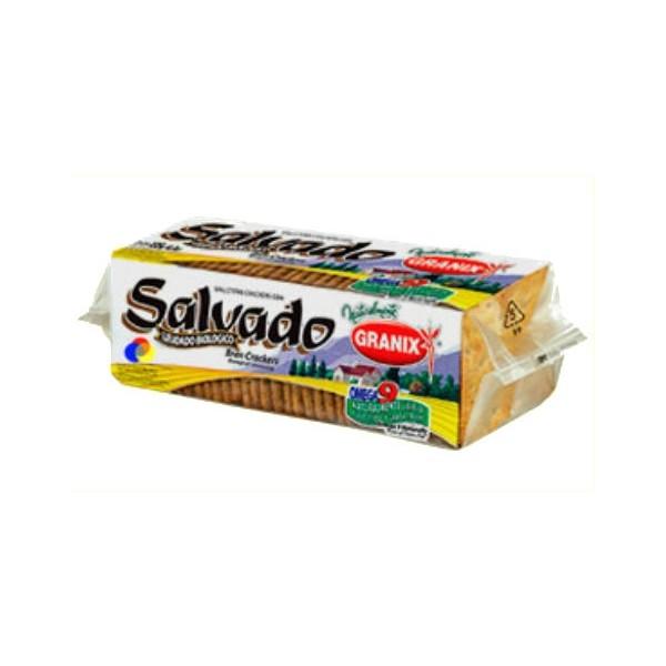 Granix Galletas Crackers Con Salvado 135gr