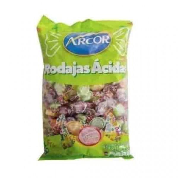 Arcor Caramelos Rodajas Acidas 930gr