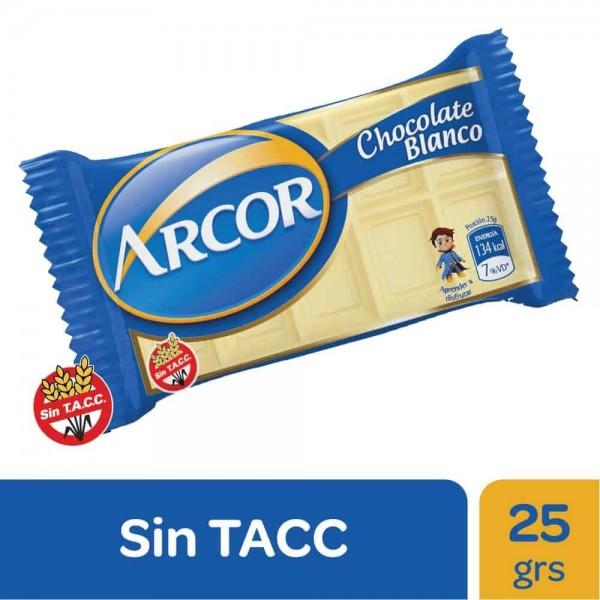 Arcor Chocolate Blanco 25gr