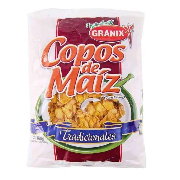 Granix Copos De Maiz Tradicionales 160gr