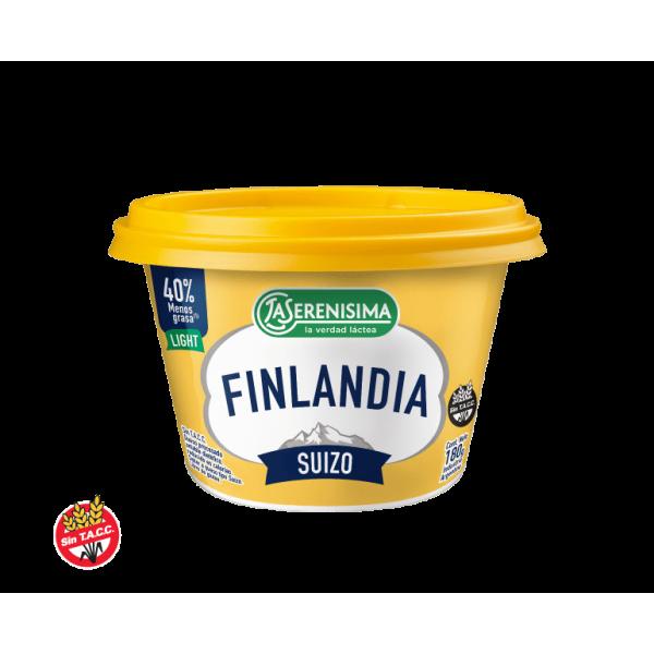 Finlandia Queso Untable Procesado Suizo 180gr