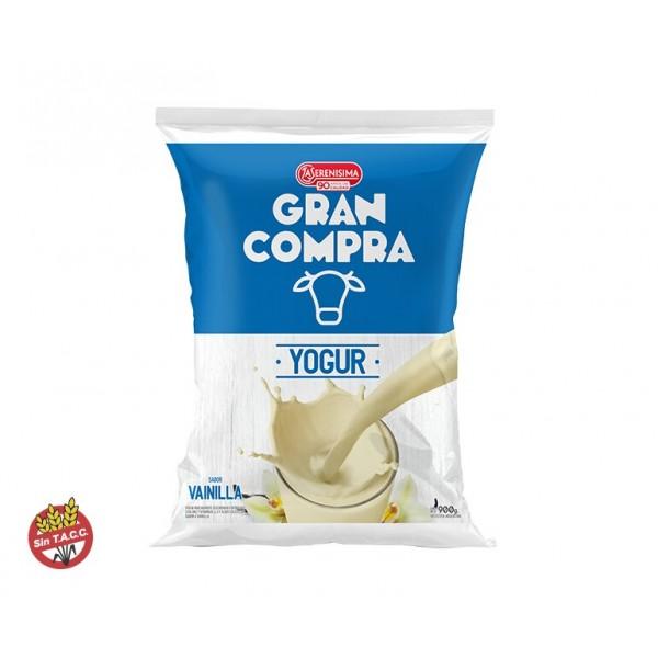 Gran Compra Yogur Bebible Fortificado Sachet Vainilla 900gr