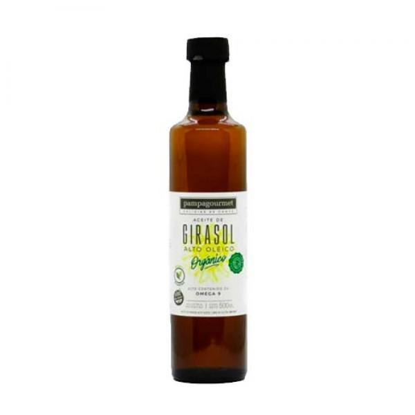 Pampagourmet Aceite de Girasol Organico Alto Oleico 500ml