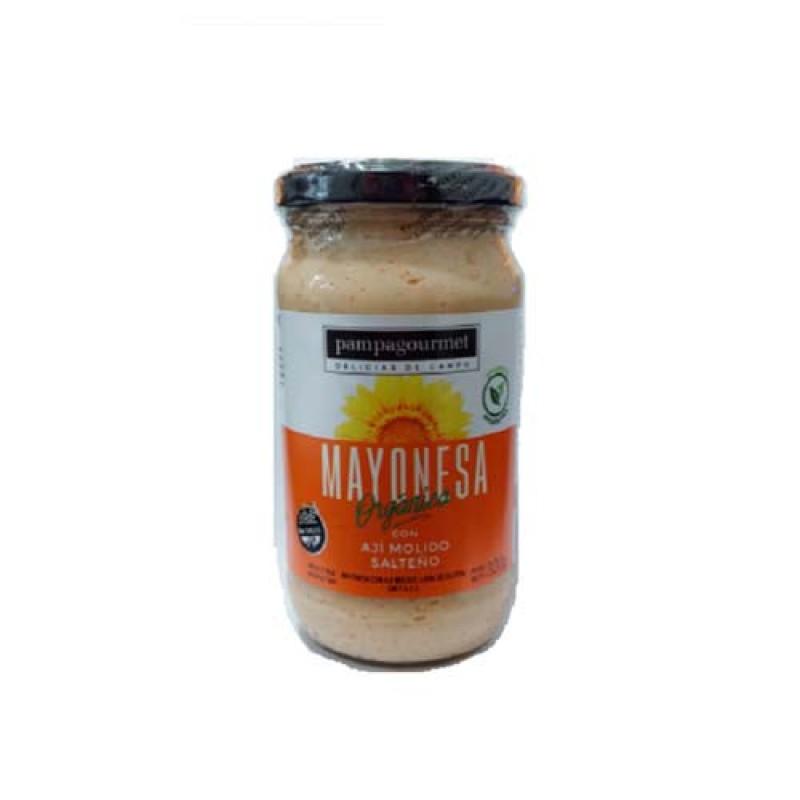 Pampagourmet Mayonesa Organica con Aji Molido Salteño 320gr