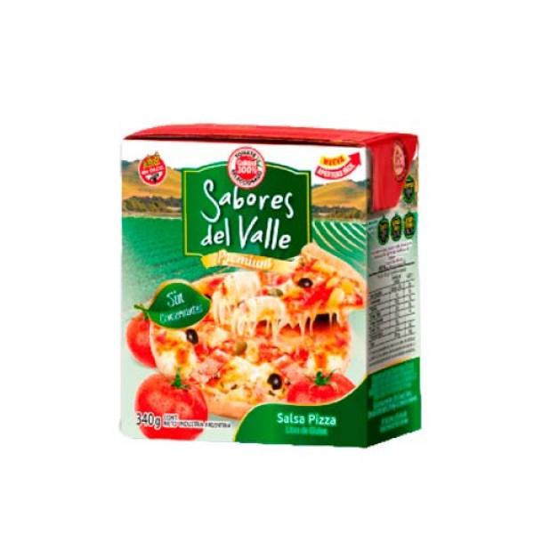Sabores Del Valle Salsa Pizza Premium 340gr